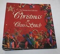 Vanessa Ann Collection Christmas in Cross Stitch Ring Binder Patterns 1989 1990
