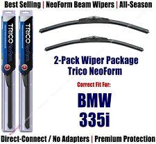 2pk Super-Premium NeoForm Wipers fit 2010-2013 BMW 335i - 162413/1715