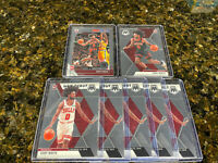 Coby White 2019-20 Panini Mosaic Base RC Rookie & NBA Hoops (7) Card Lot Bulls📈