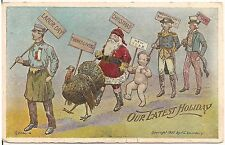 "Labor Day - ""Our Latest Holiday"" Postcard 1909 Lounsbury"