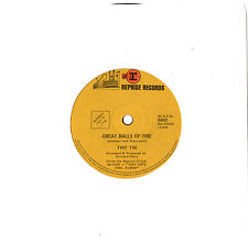 """TINY TIM - GREAT BALLS OF FIRE / AS TIME GOES BY - 7""""45 VINYL RECORD"""