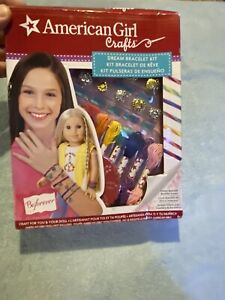 American Girl Dream Bracelet Kit Craft 7 Charms & Thread Colors Included - NEW!!