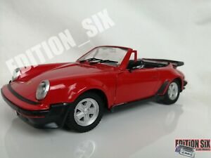 1/16 Tonka Polistil PORSCHE 911 TURBO vintage large scale diecast car