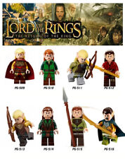 MINIFIGURES - LORD OF THE RINGS - HOBBIT - ELF -  LEGO COMP.