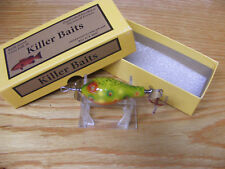 Beautiful Killer Baits Rusty Jessee Glasseye Fatso Lure in Brook Trout Color