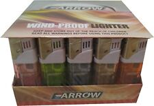 Lot of 50 Arrow Wind Proof Cigar Cigarette lighters free shipping
