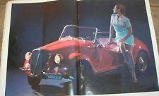 FIAT 500 GAMINE VIGNALE DINO FIAT LOTUS EUROPA MATRA 530 GORDINI L' EUROPEO 1967