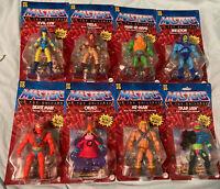 Lot Of 8 Masters Of The Universe MOTU Origins Action Figures He-Man Orko + More