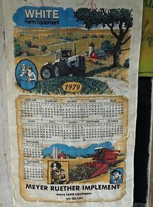 1979 White Farm Equipment Meyer Ruether implement RARE!!