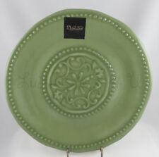 Il Mulino set of 4 Green Spanish medallion hobnail melamine dinner plates fall