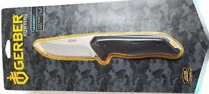 Gerber Knife, Moment Hunter,Fixed Blade,Model # 31-002197 Full Tang, New 1 pc.