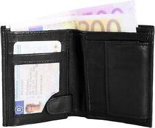 Monopol - Echtes Lammleder - Herren - Geldbörse - Klein - 8x10 cm - Kompakt
