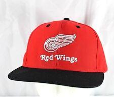 Detroit Red Wings Red/Black NHL Baseball Cap Snapback