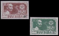 Vietnam Nord N°96G/H ESG Ch Nera, 1954-56 North Vietnam 12-13 NGAI MNH