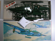 VEB Plasticart Soviet Tupolev Tu-2 bomber inventoried  kit 1:72  NIB