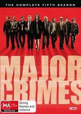Major Crimes : Season 5 (DVD, 2017, 5-Disc Set)