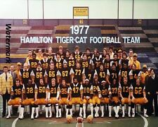 CFL 1977 Hamilton Tiger Cats Team Picture Color 8 X 10 Photo PicFree Shipping
