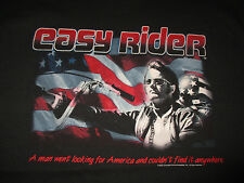 2002 EASY RIDER Peter Fonda A man went looking for America (LG) T-Shirt w/ Tags