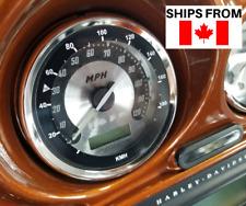 Harley Davidson Sportster, Dyna, Ultra Limited Speedometer Conversion Sticker KM