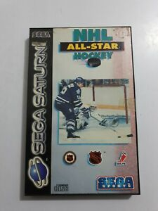 NHL ALL-STAR HOCKEY Sega Saturn Pal España COMPLETO