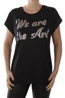 BRANDNEU Diesel T-Serra-H Maglietta Große: XL women t-shirt short sleeve black