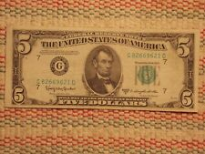 1950-D USA $5.00 note