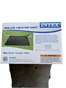 Intex solar heater mat -Heat Your Pool!! Great For Cool Winter Nights!