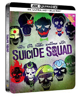 SUICIDE SQUAD - STEELBOOK COLLECTOR'S EDITION (BLU-RAY 4K ULTRA HD+ 2K + GADGET)