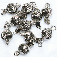 7x10mm Zinc Alloy 10pcs mixed clasps Jewelry Findings accessories 18K