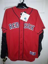 Manny Ramírez Boston Red Sox Ramirez shirt MLB baseball Red Jersey NEW Medium M