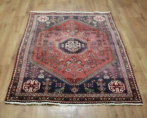 Traditional Vintage Wool Handmade Classic Oriental Areas Rug Carpet 156 X115 cm
