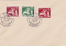 GERMANY : 10th ANNIV. OF NATIONAL GOLDSMITHS' INSTITUTION STAMPS ON COVER (1942)