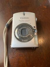 Canon PowerShot Digital ELPH SD550 7.1MP, Includes Batteries And Charger