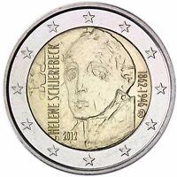 Finnland 2 Euro Münze Helene Schjerfbeck 2012 Gedenkmünze Unzirkuliert