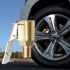 Car Air Pump Nozzle Adapter Truck Tire Inflator Valve Head Clip Connector Y6N6
