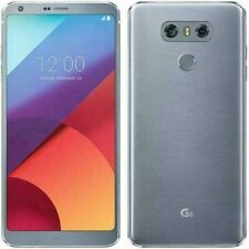 LG G6 32GB Ice Platinum (AT&T) GSM UNLOCKED. MINT mobile, t-mobile.