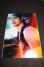"James Franco SIGNED AUTOGRAFO SU 20x30 cm"" 127 hours ""foto inperson look"
