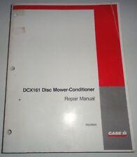 Case IH DCX161 Disc Mower Conditioner Service Repair Shop Manual CIH Original