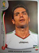 PANINI 459 Amir Hossein Sadeghi IRAN fifa world cup 2014 Brasile