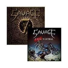 Savage - Seven / Live N Lethal N CD 2015 NWOBHM OVP