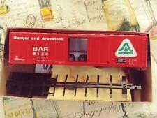 Athean 50 ft box car Bangor & aroostook