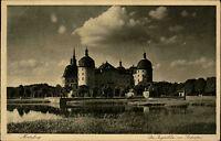 Moritzburg bei Dresden Sachsen alte AK 1932 Jagdschloss von Südwesten Schloss