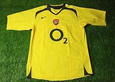 ARSENAL LONDON ENGLAND 2005-2006 FOOTBALL SHIRT JERSEY HOME NIKE ORIGINAL SIZE L