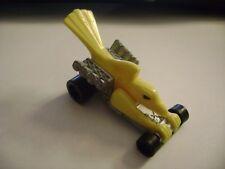 BOLD EAGLE toy race car HOT WHEELS Mattel 1994 McDonald's Happy Meal # 9 yellow