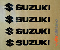 PEGATINA STICKER VINILOS moto Suzuki 4 uds