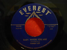 RANDY LEE Baby, Where You Are/Did You Ever See A Dream Walking 45