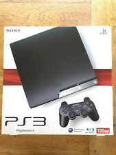 PS3 Slim Console 120GB CECH-2003A Model (box damaged) - Factory Sealed!