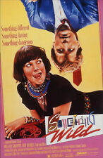 "SOMETHING WILD ORIGINAL 1986 ROLLED MOVIE POSTER 40"" X 27"" MINT CONDITION"