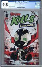 Spawn Kills Everyone! #1  Todd McFarlane  HTF 2nd Print   1st Print  CGC 9.8