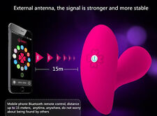 16 Function Vibrating Wireless Remote Control Pantie Massager Bluetooth Control